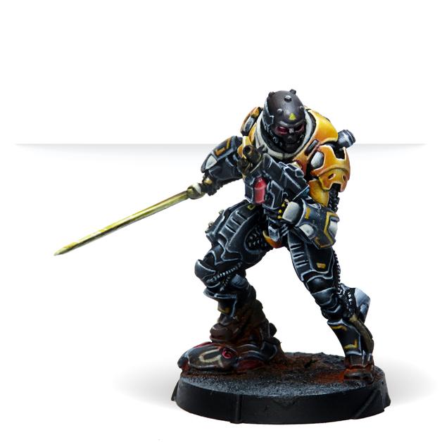 Infinity: Húláng Shocktroopers (Combi Rifle + Light FT)