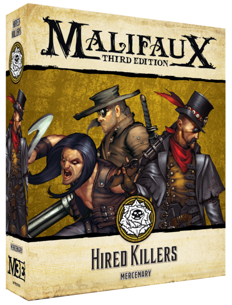 Malifaux: Outcasts - Hired Killers