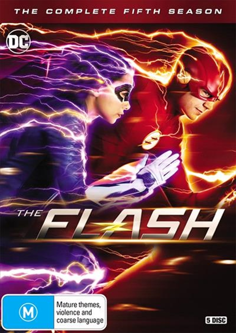 The Flash - Season 5 on DVD image