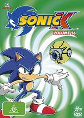 Sonic X - Volume 16 on DVD