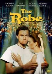 The Robe on DVD
