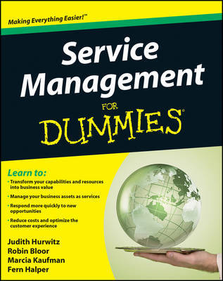 Service Management For Dummies by Judith Hurwitz image