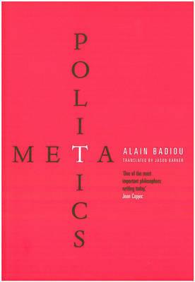 Metapolitics by Alain Badiou