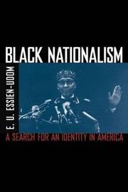 Black Nationalism by E. U. Essien-Udom