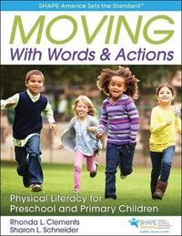 Moving with Words & Actions by Rhonda Clements image