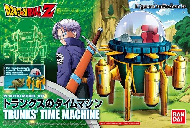 Dragon Ball: Figure-rise Mechanics: Trunks' Time Machine -Model Kit