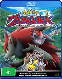 Pokemon - Movie 13: Zoroark and the Master of Illusion on Blu-ray image