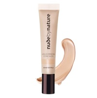Nude By Nature: Liquid Mineral Concealer - Light (10ml)