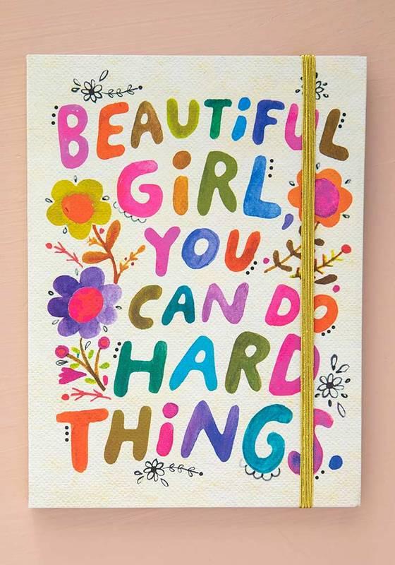 Natural Life: Journal - Beautiful Girl
