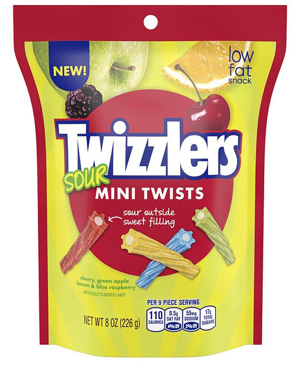 Twizzlers Sour Mini Twists 227g