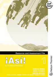 !Asi! 1 - Resource and Assessment File by Amanda Raigner image