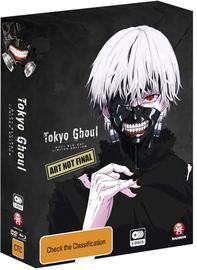 Tokyo Ghoul - The Complete First Season on DVD, Blu-ray