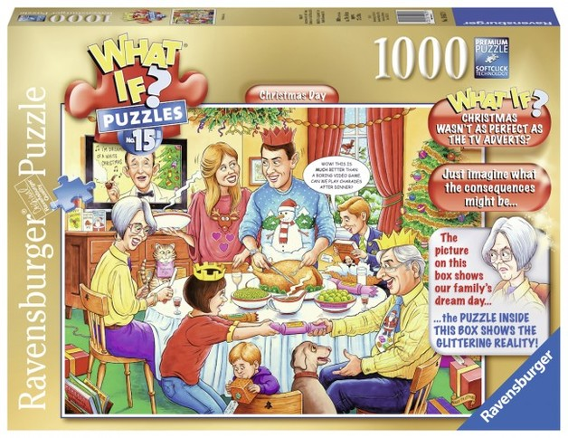 Ravensburger What If? Christmas Day 1000pce Puzzles