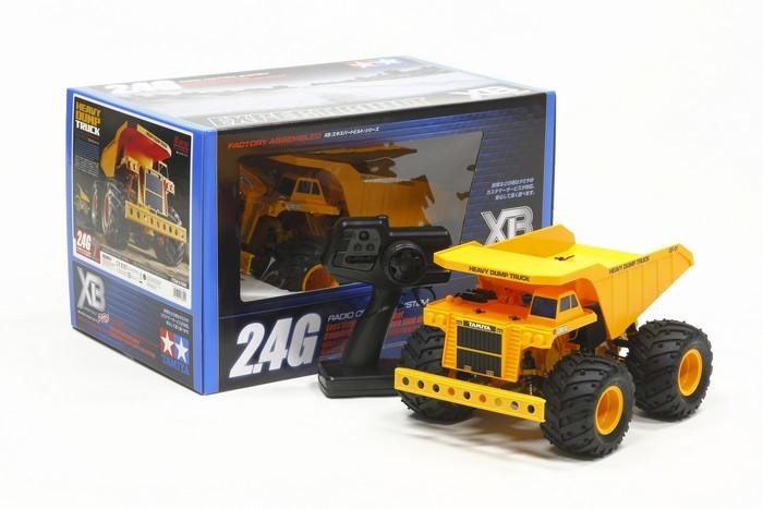 Tamiya 1:24 RTR Heavy Dump Truck - GF-01 image