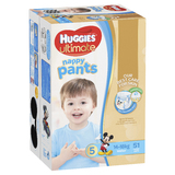 Huggies Ultimate Nappy Pants: Jumbo Pack - Walker Boy 14-18kg (51)