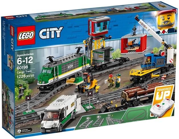 LEGO City - Cargo Train (60198)