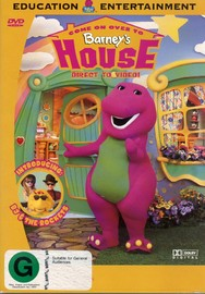Barney - Come On Over To Barney's House on DVD