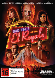 Bad Times At The El Royale on DVD