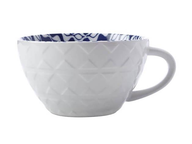 Maxwell & Williams Alhambra Soup Mug - Blue Green (540ML)