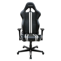 DXRacer Racing Series RZ9 Gaming Chair (Black & White) for