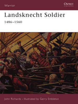 Landsknecht Soldier by John Richards image