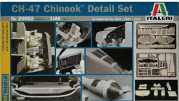 Italeri CH-47 Chinook Detail Set 1:48 image