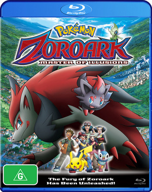Pokemon - Movie 13: Zoroark and the Master of Illusion on Blu-ray