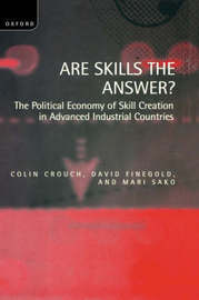 Are Skills the Answer? by Colin Crouch