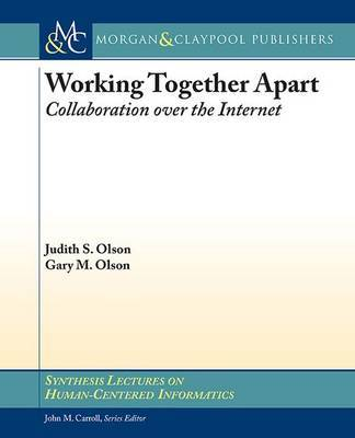 Working Together Apart by Judy S. Olson image