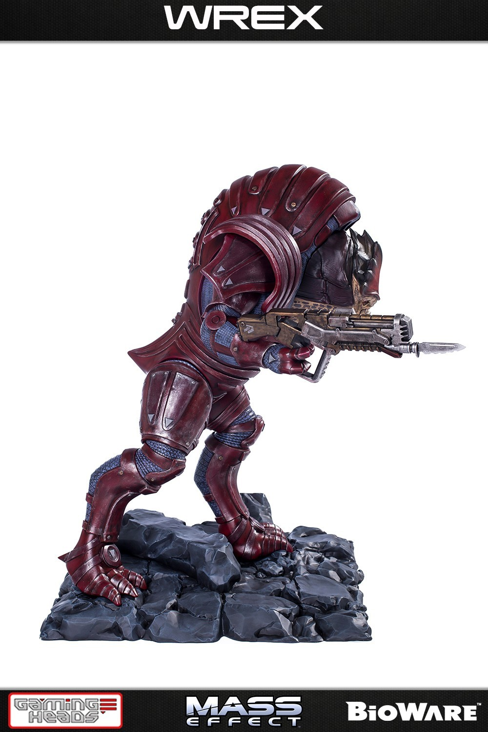 Mass Effect - Wrex 1:4 Scale Statue