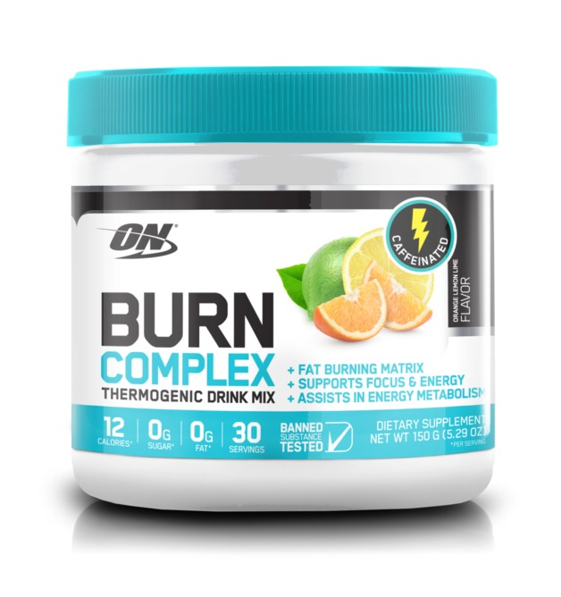 Optimum Nutrition: Burn Complex Thermogenic Drink Mix - Lemon Lime (30 Serves)