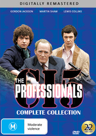 The Professionals - Complete Collection on DVD