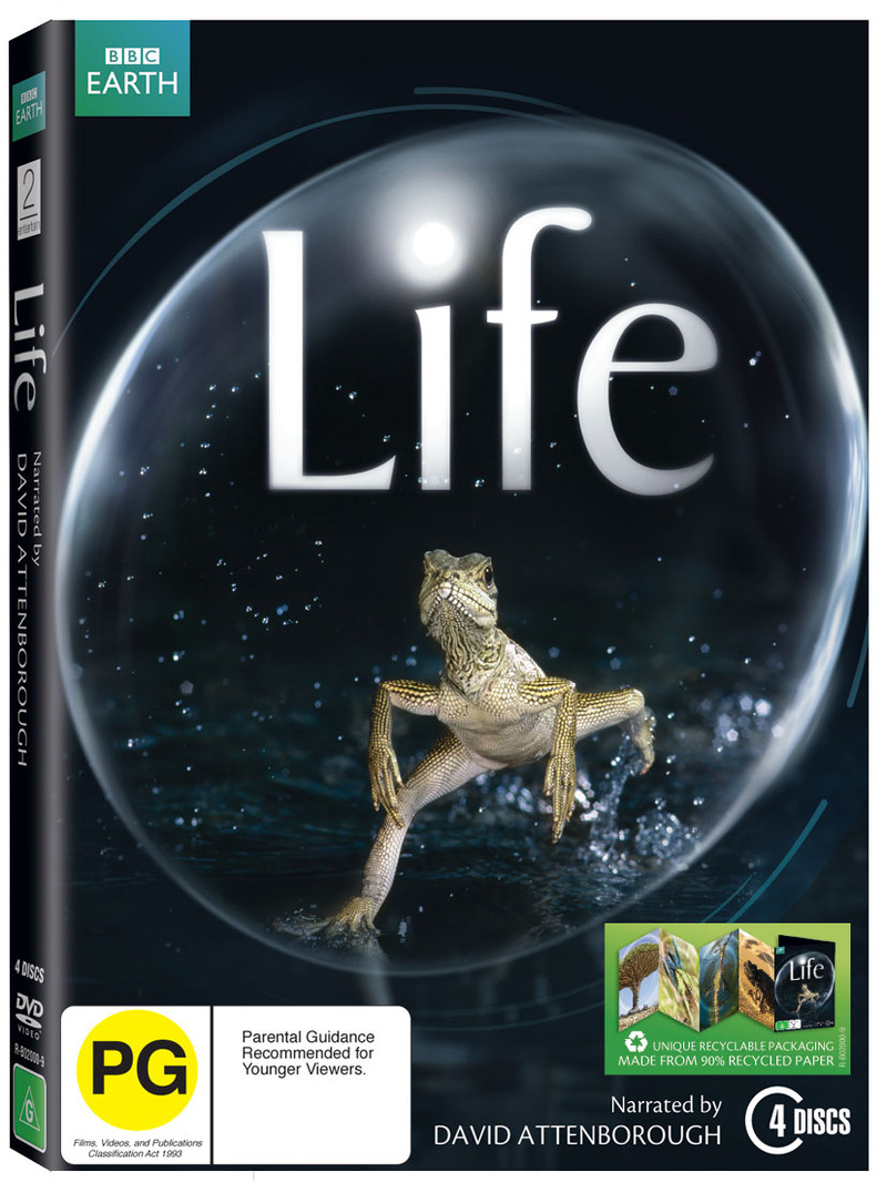 Life on DVD image