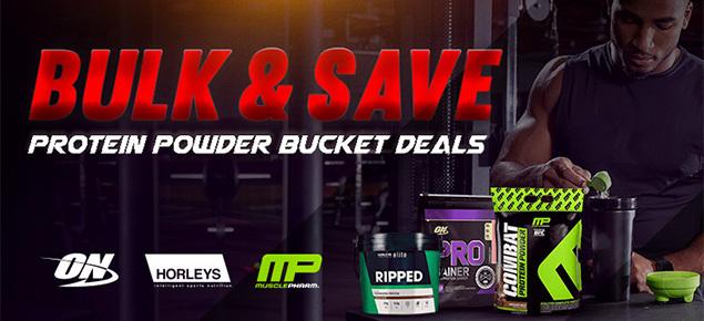 Bulk Protein Powder Deals!