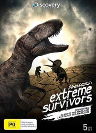 Dinosaurs: Extreme Survivors (5 Disc Set) on DVD
