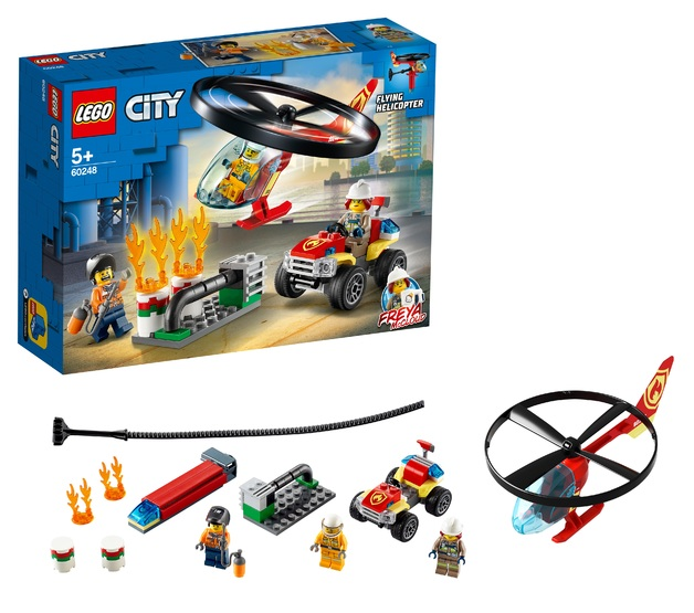 LEGO City: Fire Helicopter Response - (60248)
