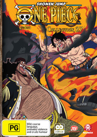 One Piece: Uncut - Collection 27 on DVD