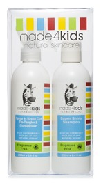 Made4Kids - Mini Gift Pack - Shampoo & Conditioner (Fragrance Free)