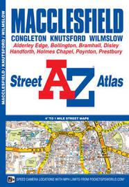 Macclesfield Street Atlas by Geographers A-Z Map Company