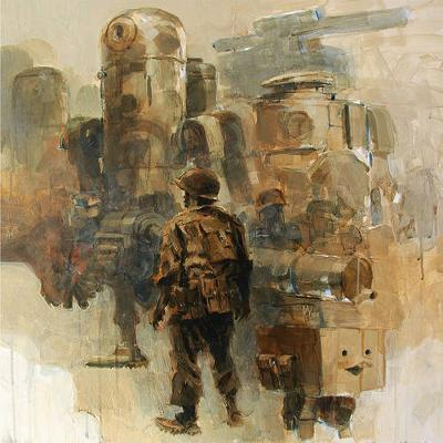 Complete World War Robot (Books 1 & 2) by Ashley Wood