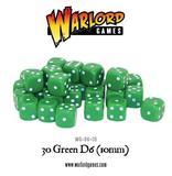 30 Green D6 (10mm)