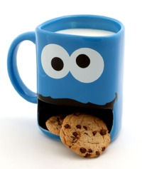 Sesame Street: Cookie Monster - Dunk Mug