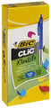 Bic: Clic Medium Ballpoint Pen - Blue (Box of 10)