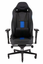Corsair: T2 Road Warrior High Back Desk And Office Chair - Black/Blue for