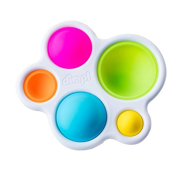 Fat Brain Toys: Dimpl - Colourful Sensory Toy