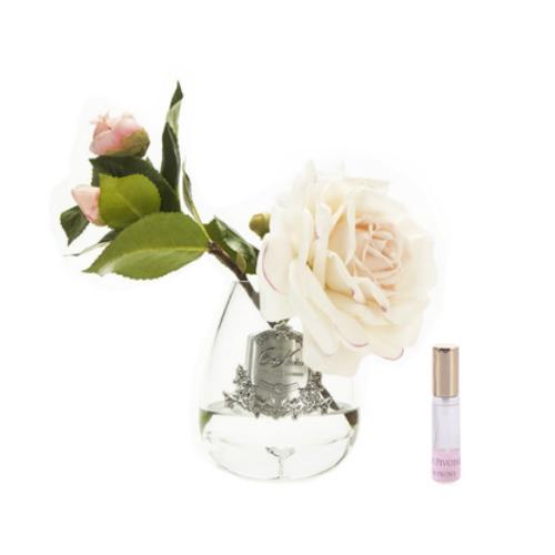 Cote Noire: Tea Rose Fragrance Diffuser - Pink Blush