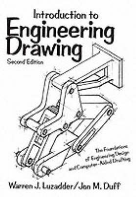 Introduction to Engineering Drawing by Warren J. Luzadder image