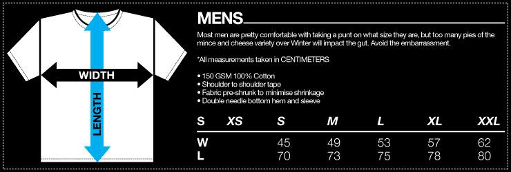Mr Vintage: Peach Teats Men's T-Shirt - XL image