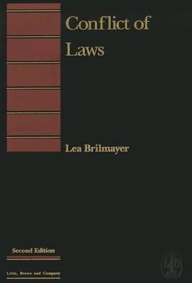 Conflict of Laws by Lea Brilmayer image