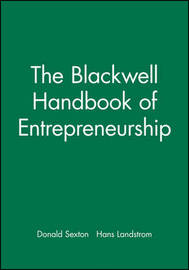 The Blackwell Handbook of Entrepreneurship image